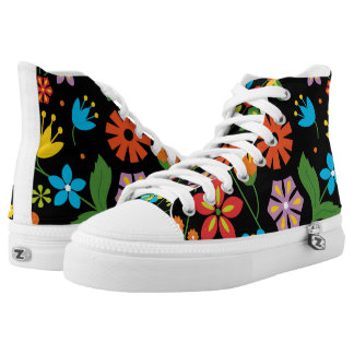 Spring Flowers Printed Shoes