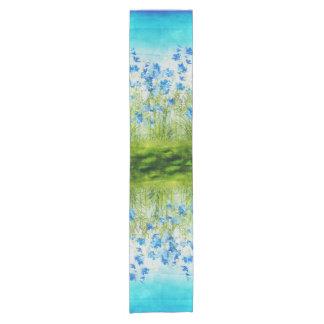 Spring Flowers Short Table Runner