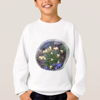 spring flowers sweatshirt