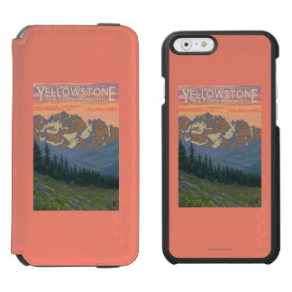 Spring Flowers - Yellowstone National Park Incipio Watson™ iPhone 6 Wallet Case