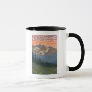 Spring Flowers - Yellowstone National Park Mug