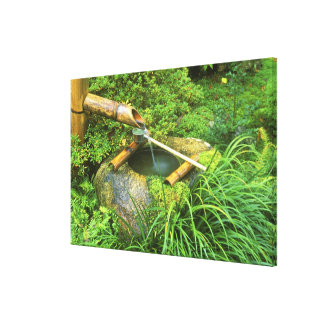 Spring for Tea Ceremony, Sanzen-in Temple, Stretched Canvas Prints