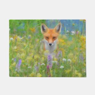 Spring Fox Doormat