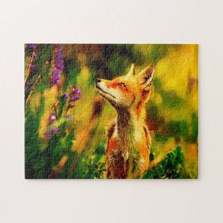 Spring Fox Jigsaw Puzzle