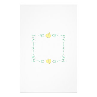 Spring Frame Custom Stationery