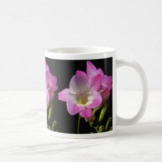 Spring freesia flowers coffee mugs