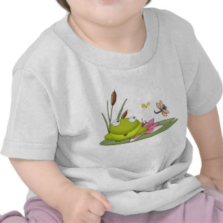 spring frog shirt