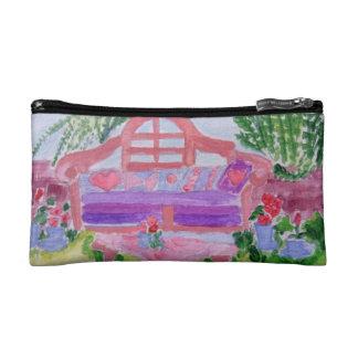 Spring Garden Cosmetic Bag