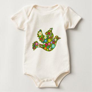 Spring Garden Dove Baby Bodysuit