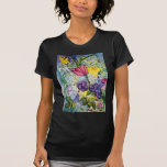 Spring Garden Watercolor Painting Shirts