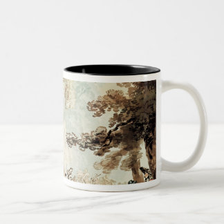 Spring Gardens, Ranelagh Two-Tone Coffee Mug