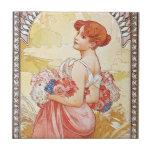 Spring Goddess Tiles