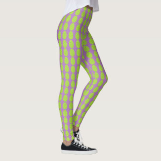 Spring Green Easter Egg Leggings