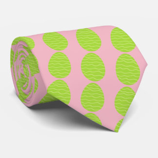 Spring Green Easter Egg Tie