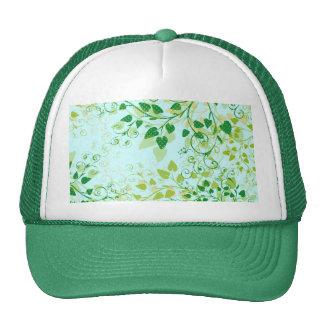 Spring Green Floral hat