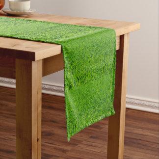 Spring Green Grass Table Runner