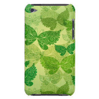 Spring Green Pattern Barely There iPod Cover
