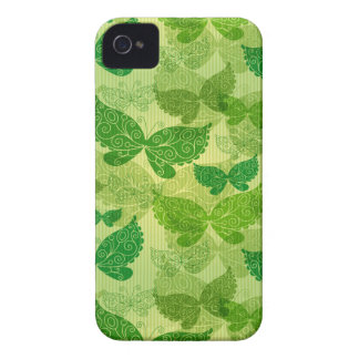 Spring Green Pattern iPhone 4 Cases