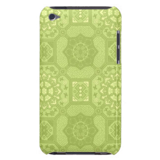 Spring Green Vintage Country Floral Pattern iPod Touch Cover