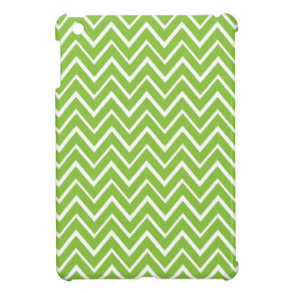 Spring green whimsical zigzag chevron pattern case for the iPad mini