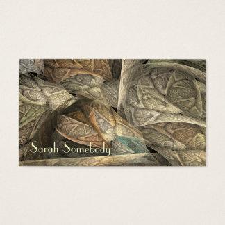 Spring Greens Fractal Profile Card