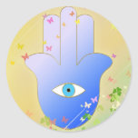 Spring Hand of Fatima Stickers