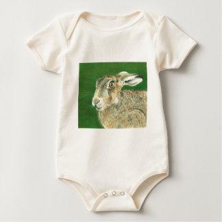 Spring Hare Baby Bodysuit