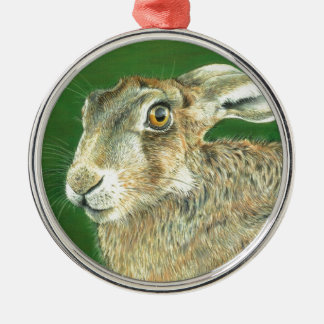 Spring Hare Christmas Ornament