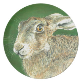 Spring Hare Plate