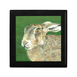 Spring Hare Small Square Gift Box