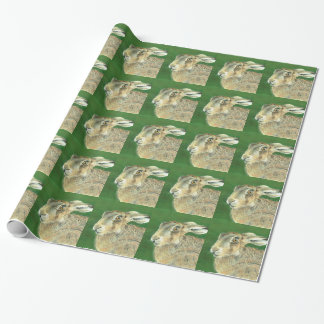 Spring Hare Wrapping Paper