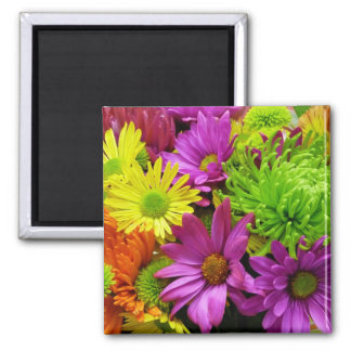 Spring Has Sprung Square Magnet