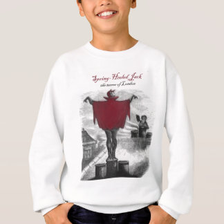 Spring Heeled Jack Devil London Vintage Art Sweatshirt