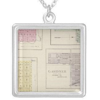 Spring Hill, Edgerton, Ocheltree, Gardner, Kansas Silver Plated Necklace