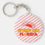 Spring Hill, Florida Keychains