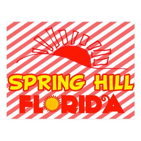 Spring Hill, Florida Postcard