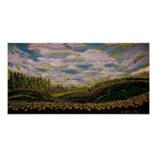 SPRING HILLS GICLEE PRINT