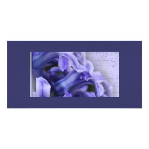 Spring Hyacinths Photo Card