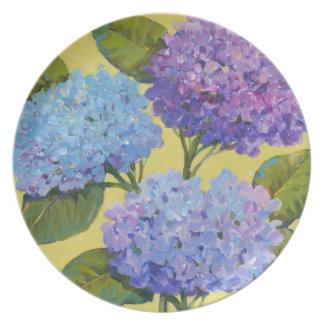 Spring Hydrangeas I Party Plates