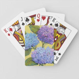 Spring Hydrangeas I Playing Cards