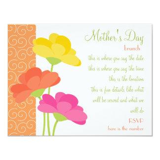 Spring In Bloom 11 Cm X 14 Cm Invitation Card