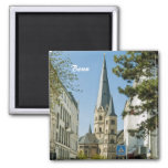 Spring in Bonn Square Magnet