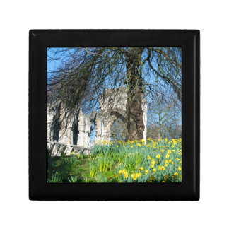 Spring in Museum Gardens Small Square Gift Box