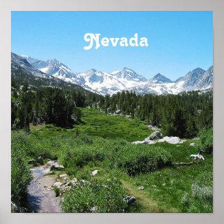 Spring in Nevada Poster