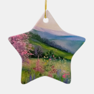 Spring in the Carpathians Christmas Ornament