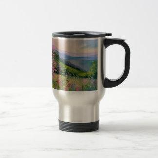 Spring in the Carpathians Travel Mug