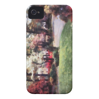 Spring in the Neighborhood iPhone 4 Covers