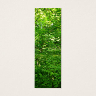 Spring in the Woods Bookmark Mini Business Card