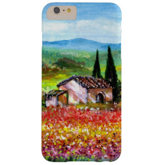 SPRING IN TUSCANY / COLORFUL FLOWER FIELDS BARELY THERE iPhone 6 PLUS CASE