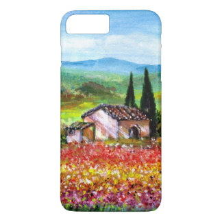 SPRING IN TUSCANY / COLORFUL FLOWER FIELDS iPhone 7 PLUS CASE